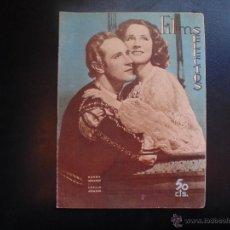 Cine: FILMS SELECTOS N´´318 PORTADA NORMA SHEARER-LESLIE HOWARD AÑOS 30S. Lote 53889649