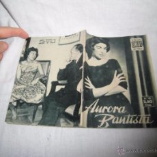 Cinéma: AURORA BAUTISTA COLECCION IDOLOS DEL CINE Nº 31.-1958. Lote 53911661