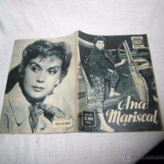 Cinéma: ANA MARISCAL COLECCION IDOLOS DEL CINE Nº 18.-1958. Lote 53911709