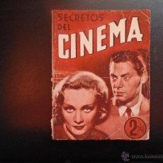 Cine: MANUAL DE CINE EDITORIAL CISNE AÑOS 40 FOTO PORTADA JHONNY WEISMULER Y MARLENE DIETRICH. Lote 53939112