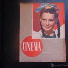 Cine: REVISTA CINEMA Nº39 AÑO 1947 PORTADA MARGARET OBRIEN FOTOS BLANCO Y NEGRO. Lote 53940473