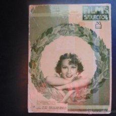 Cine: FILMS SELECTOS Nº218 AÑO 1934 SEMANARIO CINEMATOGRAFICO ILUSTRADO. Lote 53969923