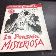 Cine: LA PENSIÓN MISTERIOSA- PUBLICACIONES CINEMA. Lote 53973249
