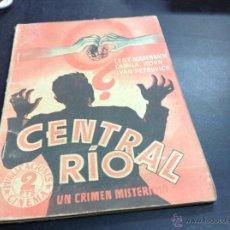 Cine: CENTRAL RÍO- UN CRIMEN MISTERIOSO. Lote 53973517