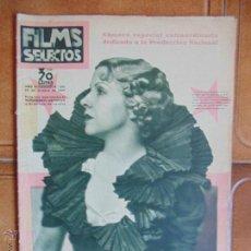 Cine: REVISTA CINE FILMS SELECTOS,Nº262.AÑO1935,REVISTA ILUSTRADA CON FOTO DE LA EPOCA.. Lote 54058474