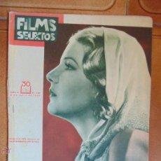 Cine: REVISTA FILMS SELECTOS Nº138,AÑO 1933.ILUSTRADA FOTOS DE EPOCA.. Lote 54058561