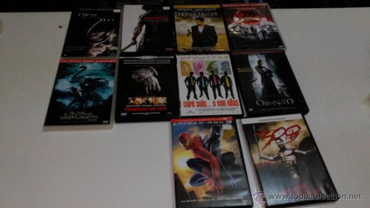 LOTE DVD (Cine - Revistas - Colección grandes películas)
