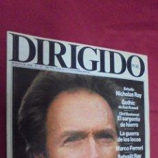 Cine: DIRIGIDO POR. Nº 147. MAYO 1987. CLINT EASTWOOD. GOTHIC.. Lote 54107768