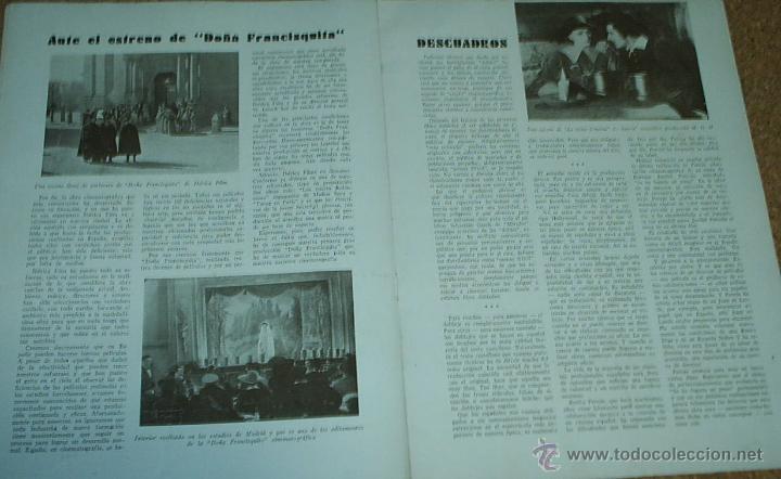 Cine: EL CINE --Nº 14 - 1934- ATRÁS JOAN CRAWFORD- ORIGINAL - IMPORTANTE LEER DESCRIPCION Y ENVIO - Foto 2 - 11521875