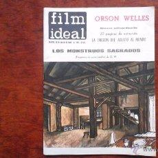 Cine: FILM IDEAL N° 150 ORSON WELLES. NUMERO EXTRAORDINARIO./ LA GUERRA DE LOS MUNDOS. Lote 54144542
