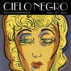 Cine: CIELO NEGRO. REVISTA DE CINE E DOS MEDIOS AUDIOVISUAIS Nº1. Lote 91793319