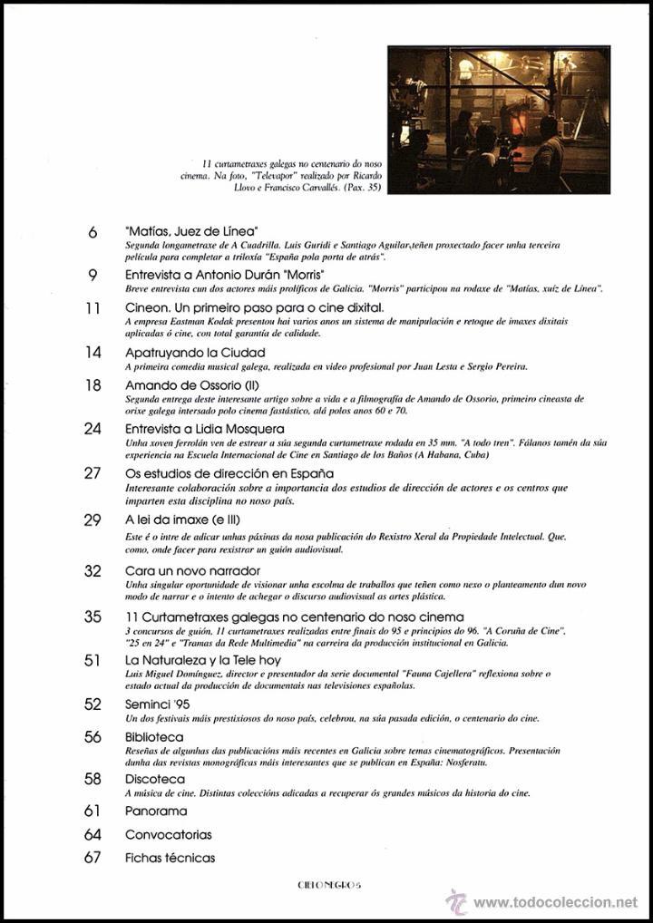 Cine: CIELO NEGRO. Revista de Cine e dos Medios Audiovisuais nº3 - Foto 2 - 91793358