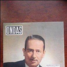 Cine: REVISTA ONDAS N° 76 AÑO 1956. Lote 54287672