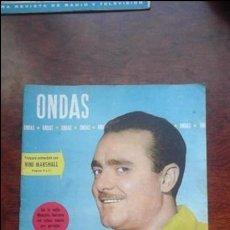 Cine: REVISTA ONDAS N° 140 AÑO 1958. Lote 54287782