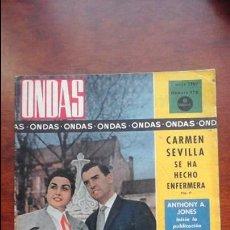 Cine: REVISTA ONDAS N° 178 AÑO 1960. Lote 54288296