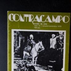 Cine: CONTRACAMPO - Nº 6 - OCTUBRE - NOVIEMBRE 1979 - DOUGLAS SIRK. Lote 54342597