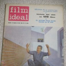 Cine: LOTE 12 REVISTAS FILM IDEAL AÑOS 60, BERLANGA, BARDEM, PASOLINI, FELLLINI, EISENSTEIN, ETC.. Lote 54402571