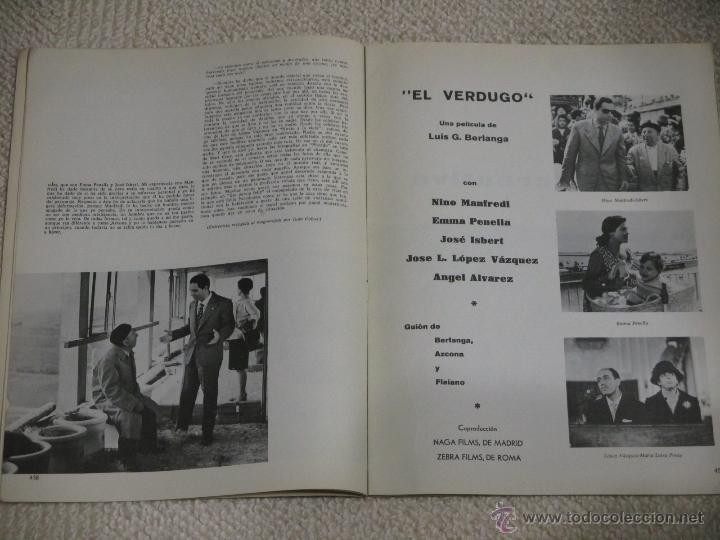 Cine: Lote 12 revistas Film Ideal años 60, Berlanga, Bardem, Pasolini, Felllini, Eisenstein, etc. - Foto 4 - 54402571