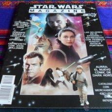 Cine: STAR WARS MAGAZINE Nº 1. AÑO 2000. 695 PTS. BUEN ESTADO. REVISTA OFICIAL EN ESPAÑA.. Lote 56858121