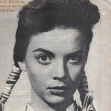 Cine: FILM IDEAL Nº 63 - 1 ENERO 1961 - NATALIE WOOD ´- ESPECIAL DEDICADO AL WESTERN. Lote 95719671