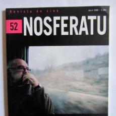 Cine: REVISTA DE CINE NOSFERATU Nº 52 JOAQUÍN JORDÁ ABRIL 2006. Lote 54531021