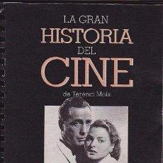 Cinéma: LA GRAN HISTORIA DEL CINE DE TERENCI MOIX 3 TOMOS CON 81 + 40 CAPITULOS MUNDI-737. Lote 54596034