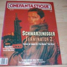 Cine: TERMINATOR 2. CINEFANTASTIQUE. REVISTA DE CINE. #21-5. 1991.. Lote 54607783