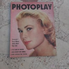Cinema: PHOTOPLAY ,VOL. 47,Nº 4,PORTADA,GRACE KEKKY,3 PAGINAS DE MARILYN,TERRY MOORE,. Lote 54629099
