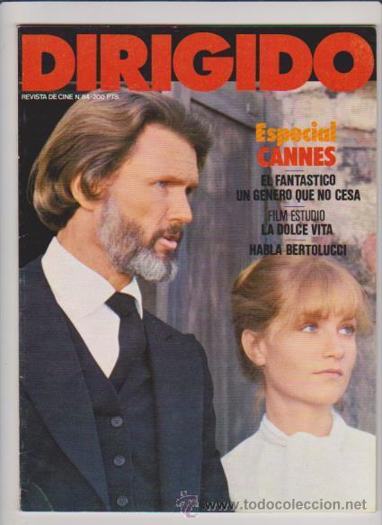 DIRIGIDO POR....ESPECIAL CANNES - Nº 84 - JUNIO / JULIO 1981 - ILUSTRADA (Cine - Revistas - Dirigido por)
