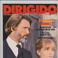 Cine: DIRIGIDO POR....ESPECIAL CANNES - Nº 84 - JUNIO / JULIO 1981 - ILUSTRADA. Lote 54709301