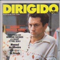 Cine: DIRIGIDO POR....NOUVELLE VAGUE - Nº 80 - FEBRERO 1981 - ILUSTRADA. Lote 54709347
