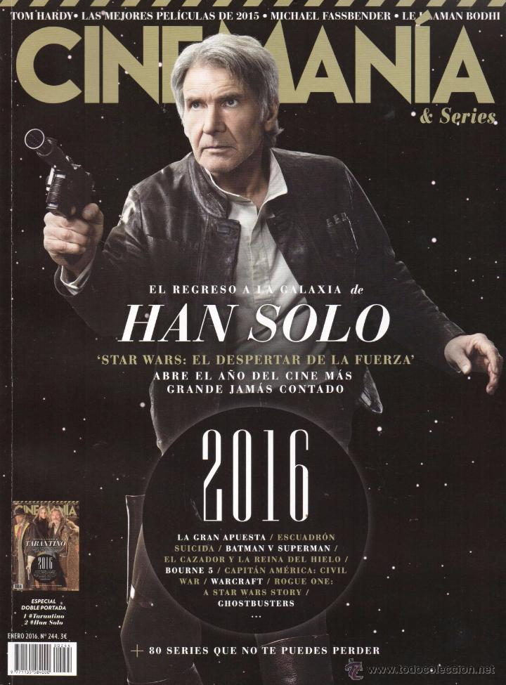 CINEMANIA N. 244 ENERO 2016 - EN PORTADA: HAN SOLO (NUEVA) (Cine - Revistas - Cinemanía)