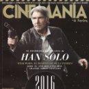 Cine: CINEMANIA N. 244 ENERO 2016 - EN PORTADA: HAN SOLO (NUEVA). Lote 121957479