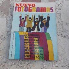 Cine: NUEVO FOTOGRAMAS Nº 1034, BEATLES 68, EL SUBMARINO AMARILLO,CINE UNDERGROUND,ODILE VERSOIS,. Lote 54757532