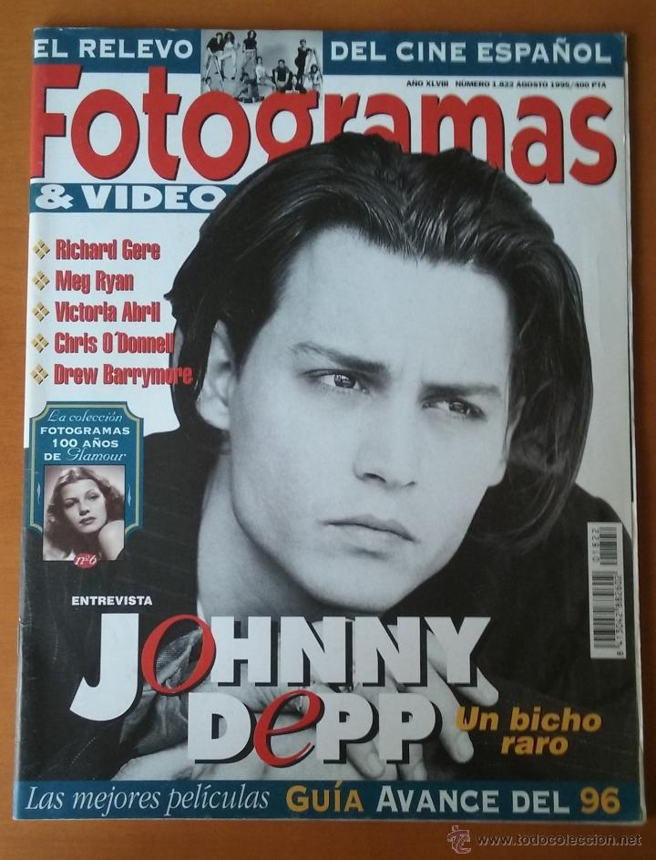 FOTOGRAMAS Nº 1822. AGOSTO 1995. (Cine - Revistas - Fotogramas)