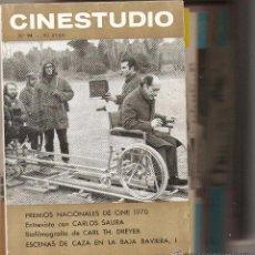Cine: CINESTUDIO. AÑOS 1.961. - 1.973. TENGO UN LOTE DE 27. REVISTAS. HAY 6. EXTRAS.. Lote 54789615