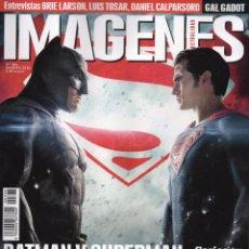 Cine: IMAGENES DE ACTUALIDAD N. 366 MARZO 2016 - EN PORTADA: BATMAN VS. SUPERMAN (NUEVA). Lote 112099514