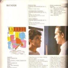 Cine: CINE ESPAÑOL, MINISTERIO DE CULTURA, LOTE DE 6. LIBROS AÑOS 1984 - 1986 - 1987 - 1989 - 1990 - 1992. Lote 54854416