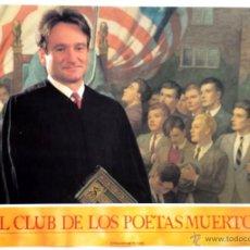 Cine: EL CLUB DE LOS POETAS MUERTOS 4 FOTOGRAMAS ORIGINALES DE LA PELÍCULA . Lote 55028427