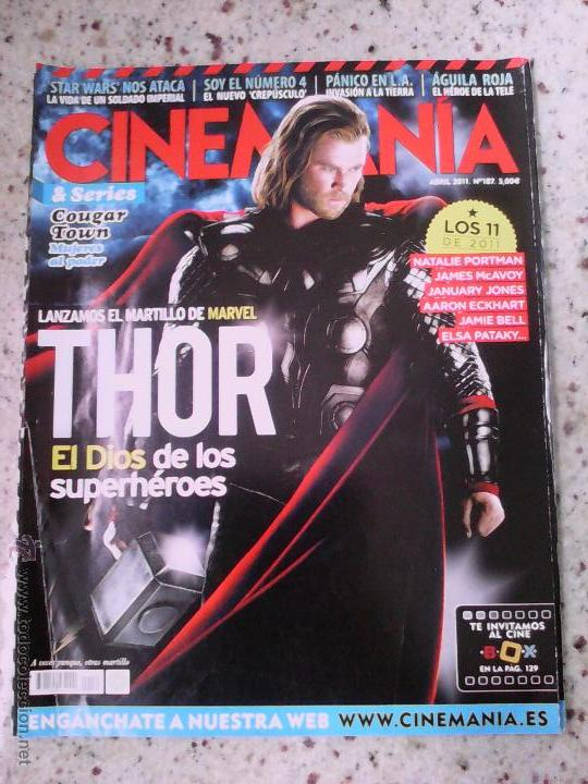 Cine: CINEMANIA Nº 187. THOR. STAR WARS - Foto 1 - 55093681