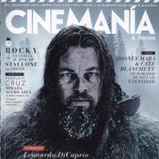 Cine: CINEMANIA N. 245 FEBRERO 2016 - EN PORTADA: EL RENACIDO (NUEVA). Lote 57394202