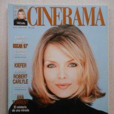 Cinéma: CINERAMA - Nº 68 - ABRIL 1998 - MICHELLE PFEIFFER. Lote 55208233