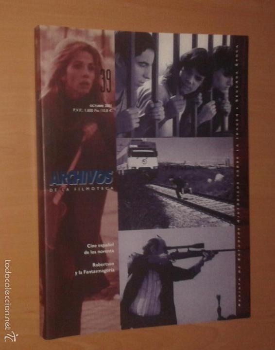 ARCHIVOS DE LA FILMOTECA Nº 39, 2001 [CINE ESPAÑOL DE LOS NOVENTA] (Cine - Revistas - Otros)