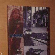 Cine: ARCHIVOS DE LA FILMOTECA Nº 39, 2001 [CINE ESPAÑOL DE LOS NOVENTA]. Lote 55370712