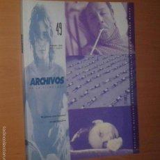 Cine: ARCHIVOS DE LA FILMOTECA Nº 49, 2005 [EL ÚLTIMO CINE ESPAÑOL EN PERSPECTIVA]. Lote 55370796