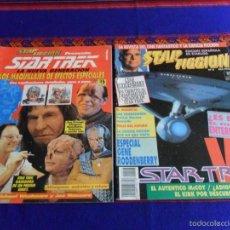 Cine: STAR FICCIÓN 1 STAR TREK NUEVA GENERACIÓN MAQUILLAJES EFECTOS ESPECIALES. ZINCO 1992. REGALO Nº 8.. Lote 55554335