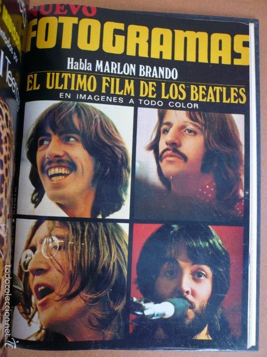 FOTOGRAMAS ENERO - JUNIO 1970 DEL Nº 1107 AL Nº 1132 CONTIENE Nº ESPECIAL BEATLES (Cine - Revistas - Fotogramas)