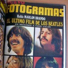Cine: FOTOGRAMAS ENERO - JUNIO 1970 DEL Nº 1107 AL Nº 1132 CONTIENE Nº ESPECIAL BEATLES. Lote 55570880