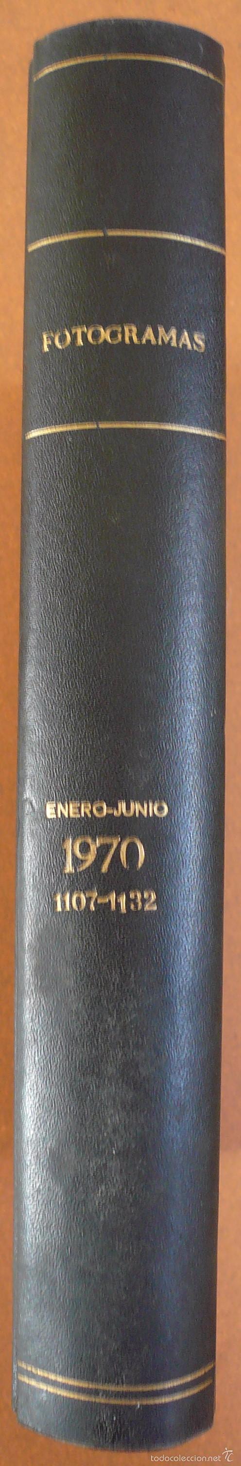 Cine: FOTOGRAMAS ENERO - JUNIO 1970 DEL Nº 1107 AL Nº 1132 CONTIENE Nº ESPECIAL BEATLES - Foto 2 - 55570880