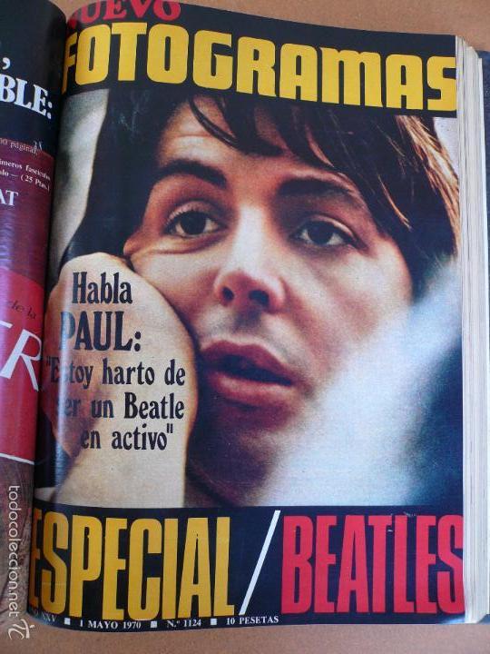 Cine: FOTOGRAMAS ENERO - JUNIO 1970 DEL Nº 1107 AL Nº 1132 CONTIENE Nº ESPECIAL BEATLES - Foto 8 - 55570880